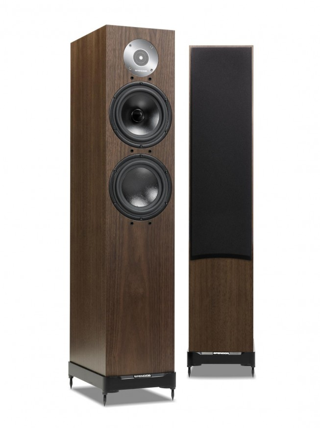 Spendor D7 - dark walnut/cherry/black ash/light oak