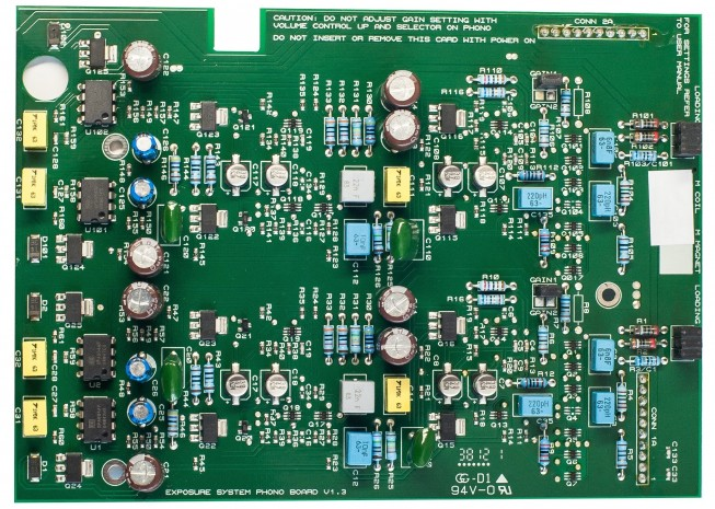 On board καρτα moving coil Exposure 3010S2 MC Board