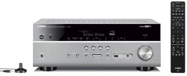 yamaha rx v685 silver titanium kosmas audio video. Black Bedroom Furniture Sets. Home Design Ideas