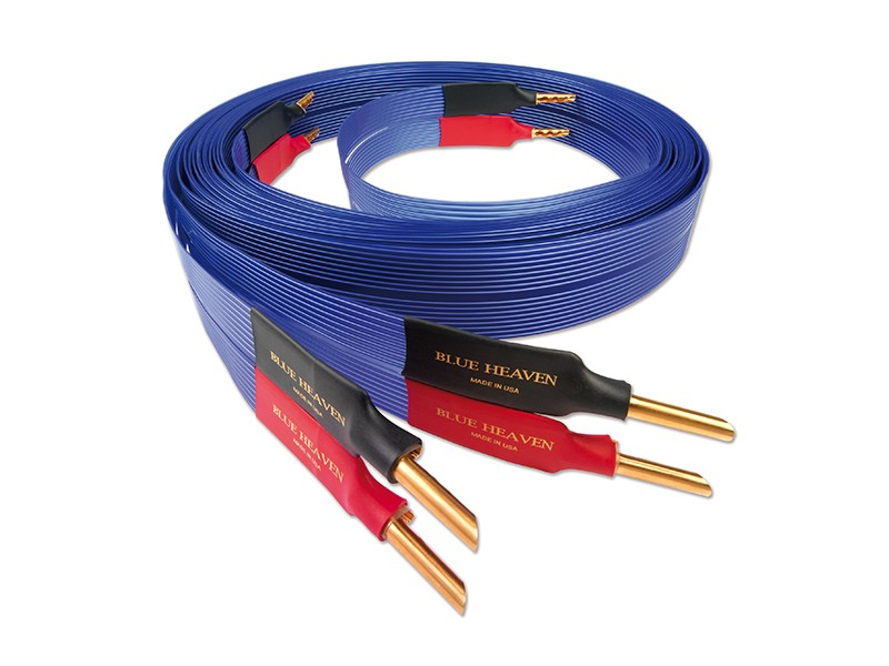 Nordost Blue Heaven speaker cable - bananas