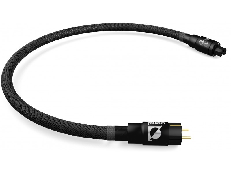 Signal Projects Alpha series power cord