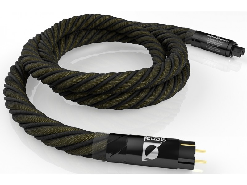 Signal Projects Golden Sequence power cord