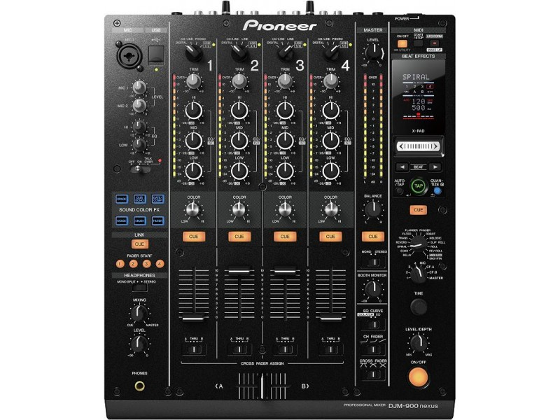 Pioneer DJM-900 NXS - NEXUS 4 Channel Digital Mixer