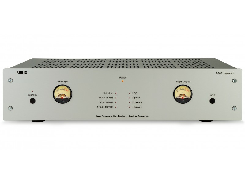 Lab12 dac1 Reference silver - tube output usb dac