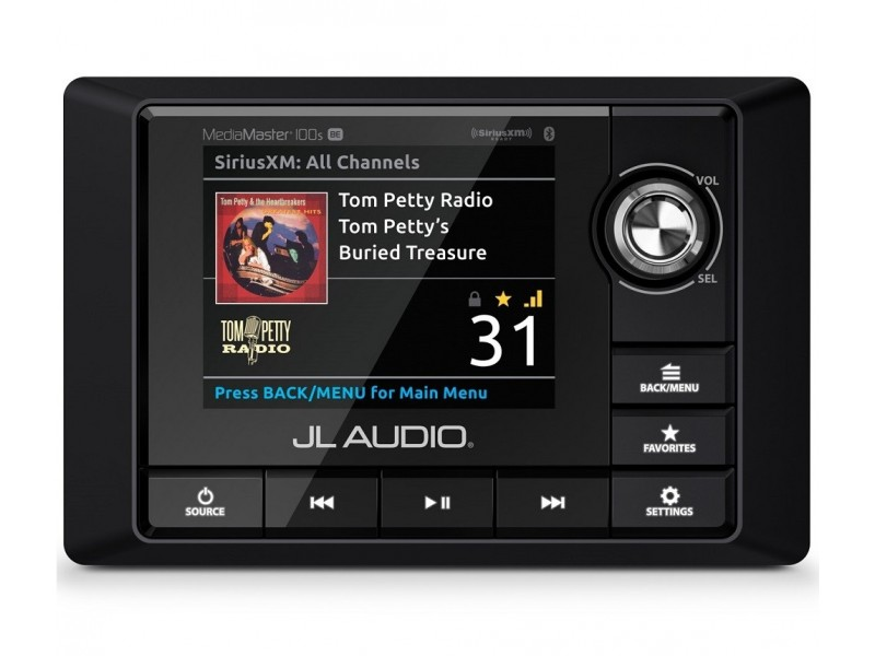 JL Audio MediaMaster MM100-SBE radio usb aptX-bluetooth multizone media player