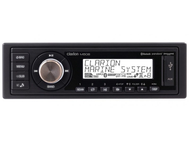 Clarion M508 radio usb aptX-bluetooth media player