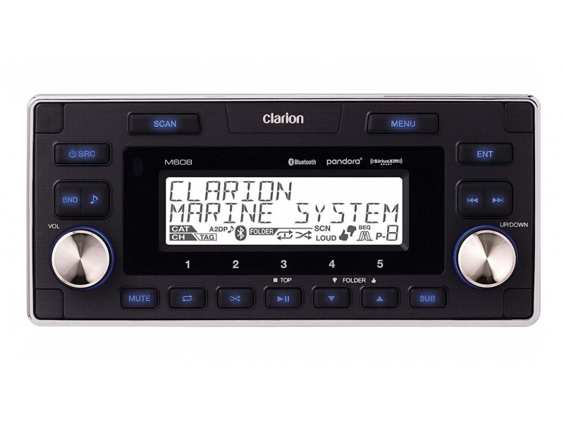 Clarion Μ608 radio usb aptX-bluetooth media player