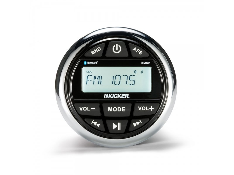 Kicker KMC2 radio usb bluetooth media player