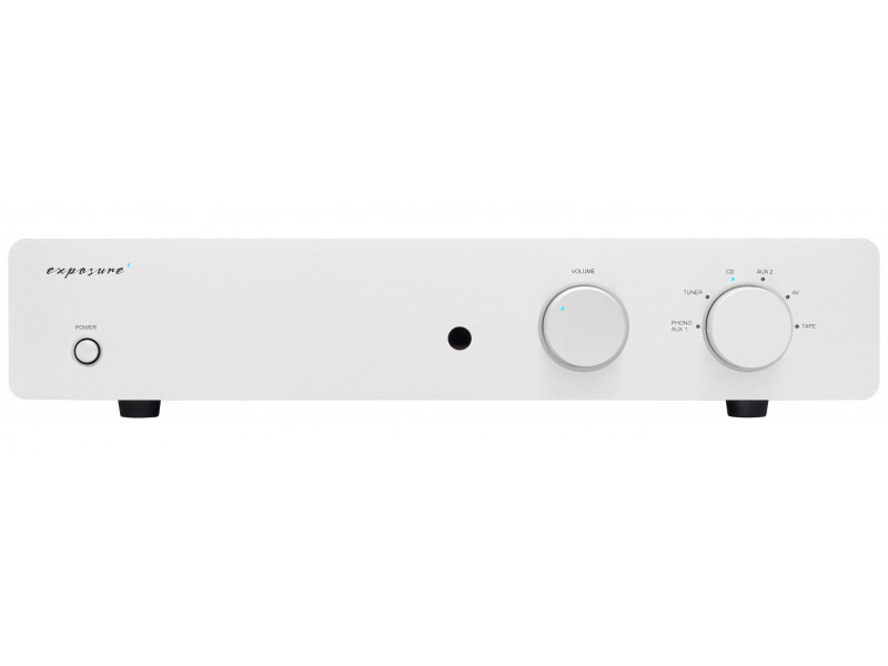 Exposure 2510 integrated amplifier - silver