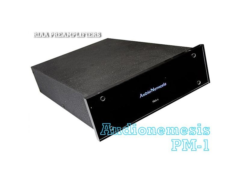 Audio Nemesis PM-1 Upgrade Edition UE zero-feedback, splitted Riaa, all discrete MM phono stage