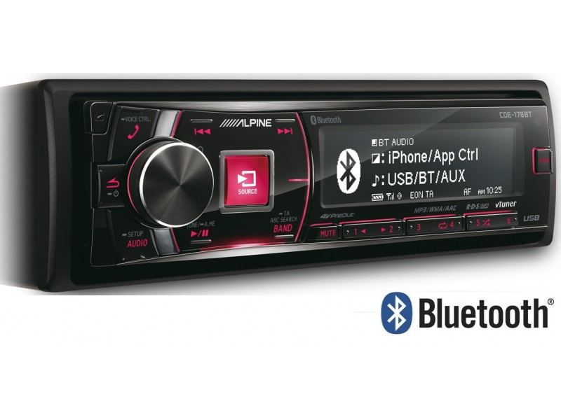 Radio , Cd Player , USB , Bluetooth