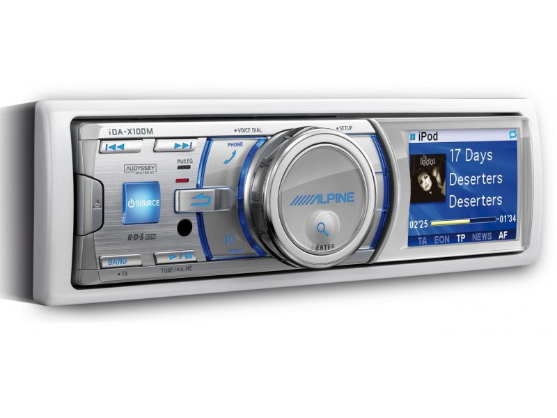CD / Radio / Media Player / USB / Bluetooth - MARINE-ΣΚΑΦΩΝ