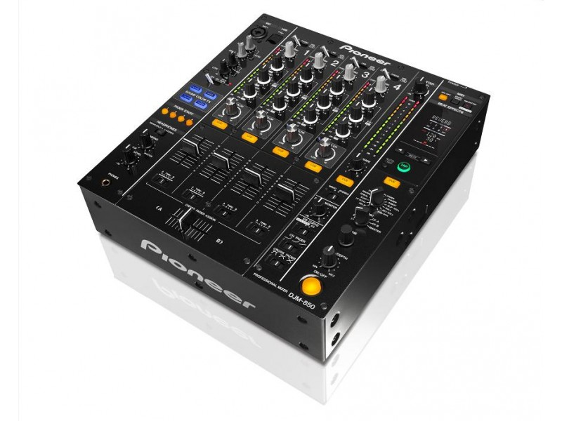 Pioneer DJM-850-K black 4 Channel Dgital Mixer