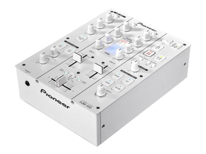 Pioneer DJM-350-W white  2 Channel Effects Mixer