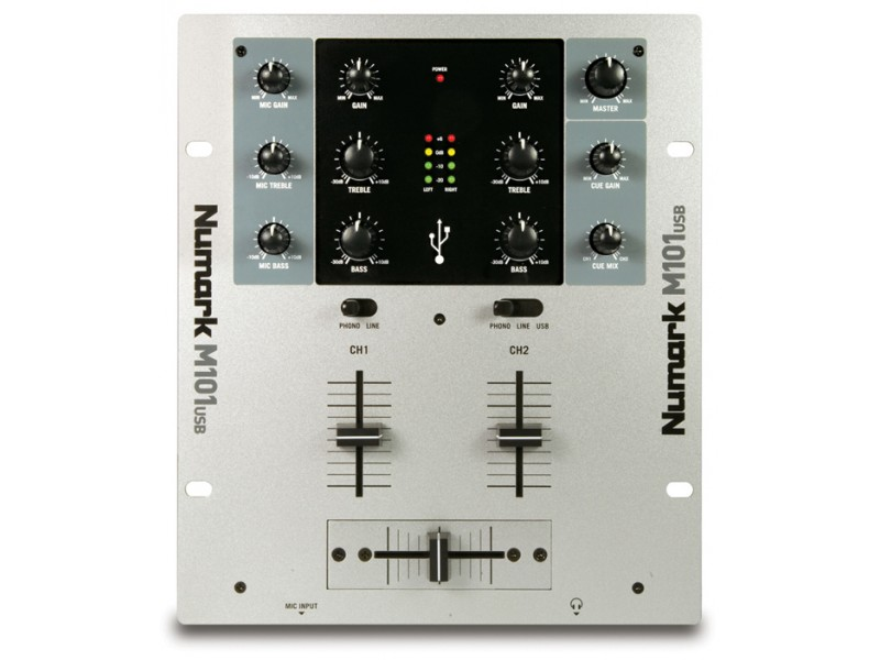 Numark M-101 USB - 2 Channel Mixer