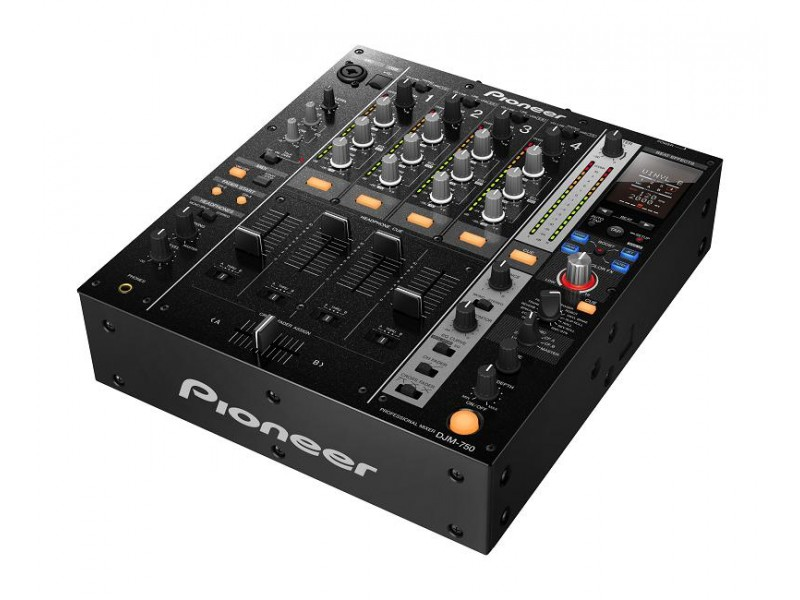 Pioneer DJM-750-K black 4 Channel Digital Mixer