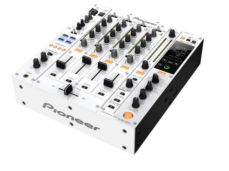 Pioneer DJM-850-W white 4 Channel Digital Mixer