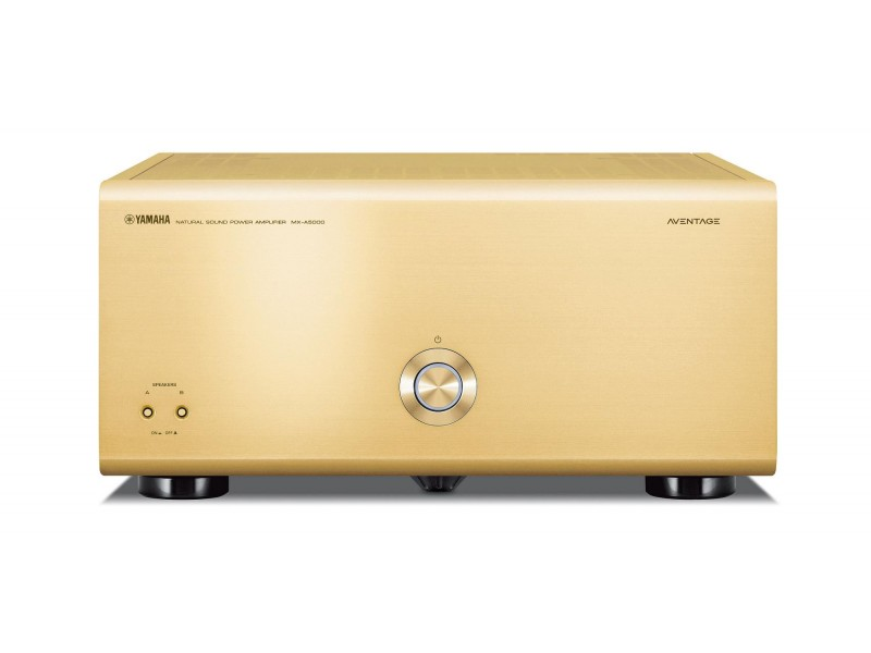 Yamaha MX-A5000 Power Amplifier gold