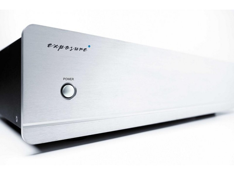 Exposure 2010 S2 stereo power amplifier - silver