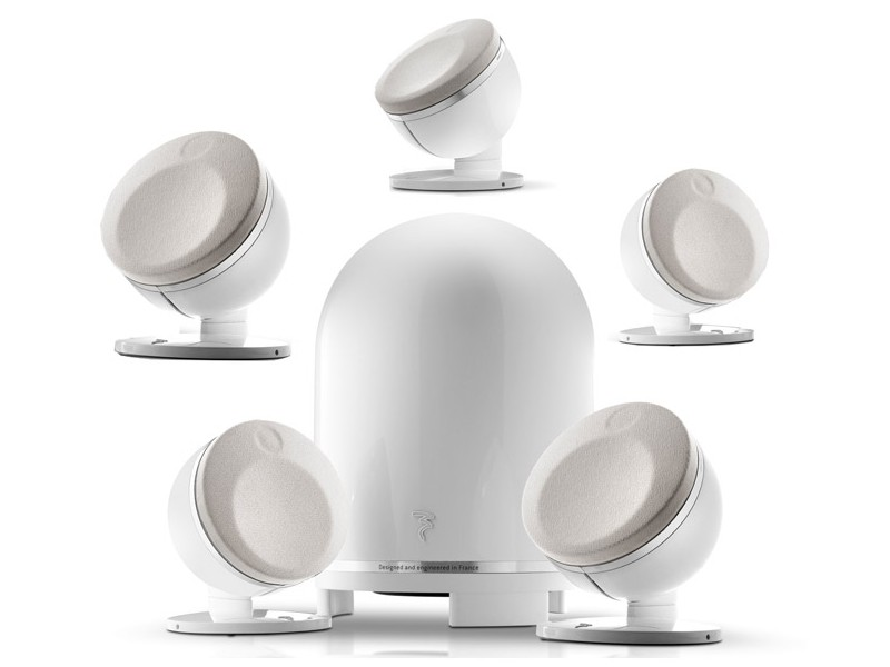 Focal 5.1 Dome - white