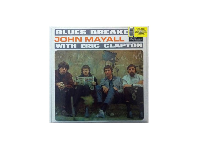 Blues Breakers - John Mayall with Eric Clapton - Virgin Vinyl - 180gr