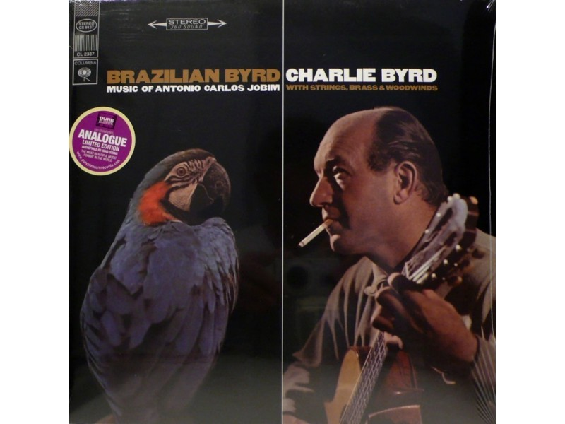 Charlie Byrd - Brazilian Byrd - Mastered at Air Mastering London - 180gr - Limited Edition - made in Germany