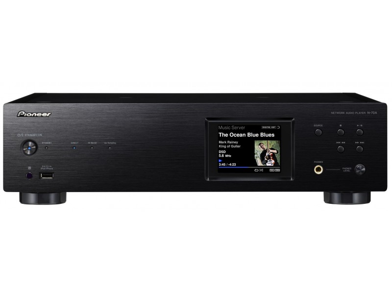 Pioneer N-70A - Network Player black