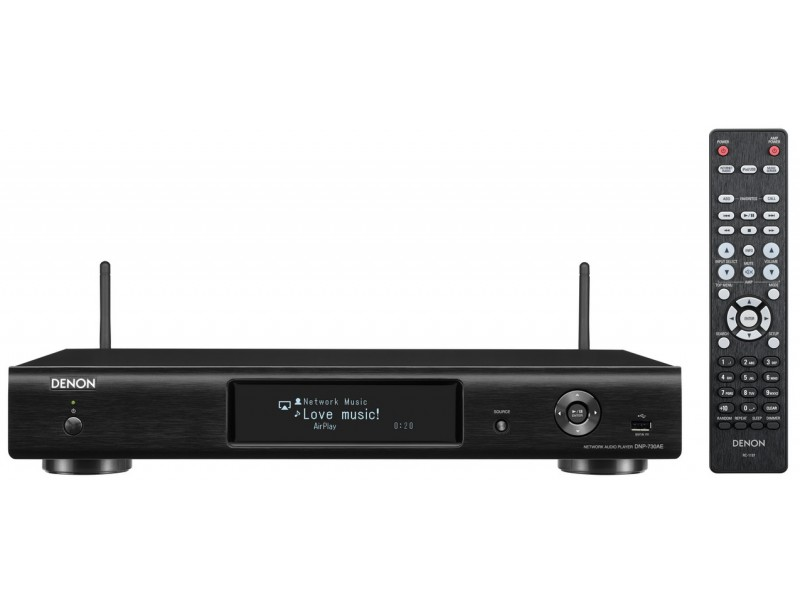 Denon DNP-730 - Network Player black