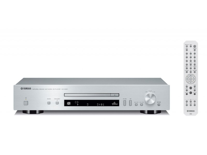 Yamaha CD-N301 - cd player & Network Player silver