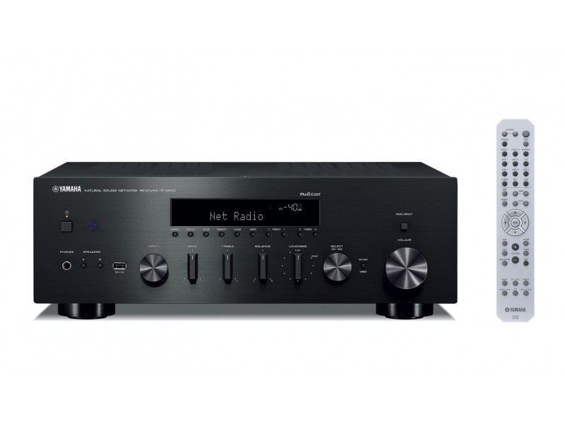 Yamaha R-N602 - Network Receiver 2x80w black