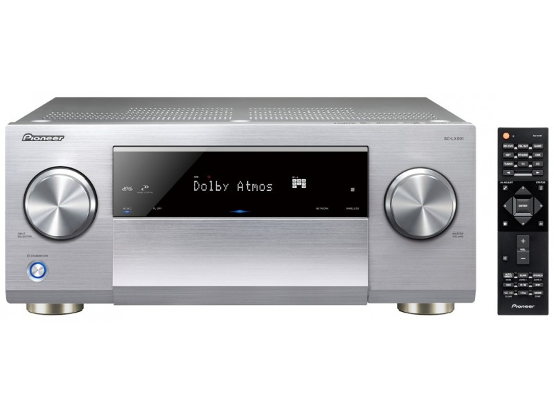 Pioneer SC-LX501 silver