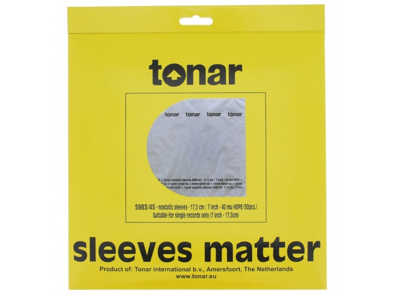 Tonar Nostatic 5983 - inner sleeves 7 inches