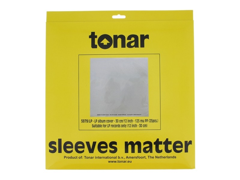 Tonar Nostatic Outer 5979 - outer sleeves 12 inches