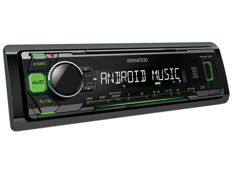 Kenwood KMM-103GY - green