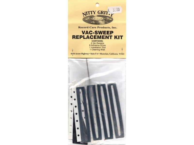 Nitty Gritty Vac Sweep Replacment Kit for models with Pump