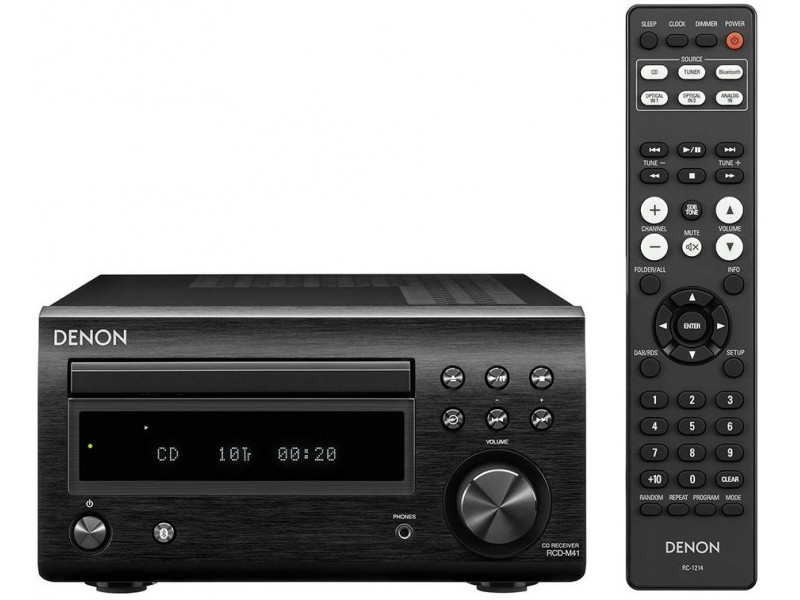 Denon RCD-M41 black - bluetooth