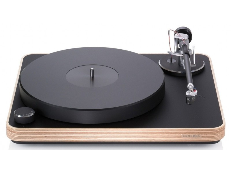 Clearaudio Concept Wood + tonearm Concept + cartridge Concept MM V2