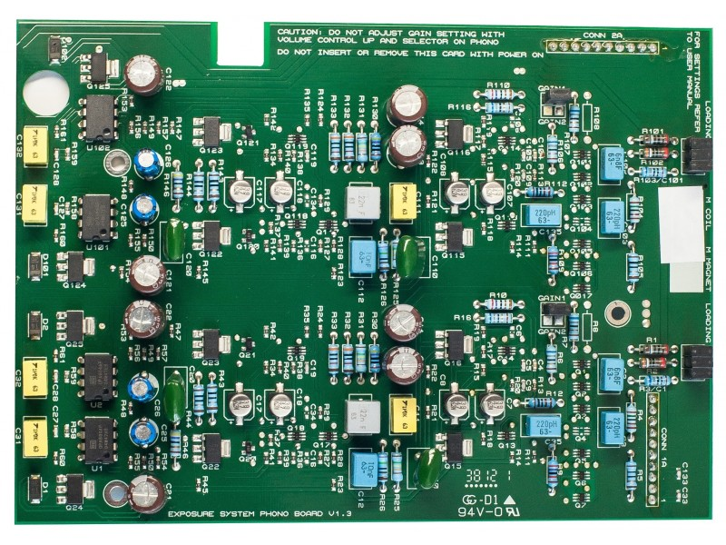 Exposure 3010S2 MC Board