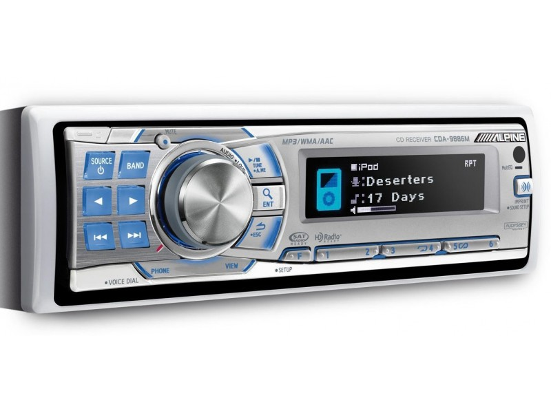 Alpine CDA-9886M - CD / Radio / USB / Bluetooth