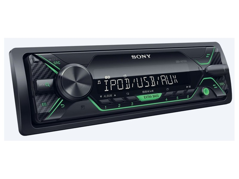 Sony DSX-A212UI + ΔΩΡΟ stick USB 8GB - green