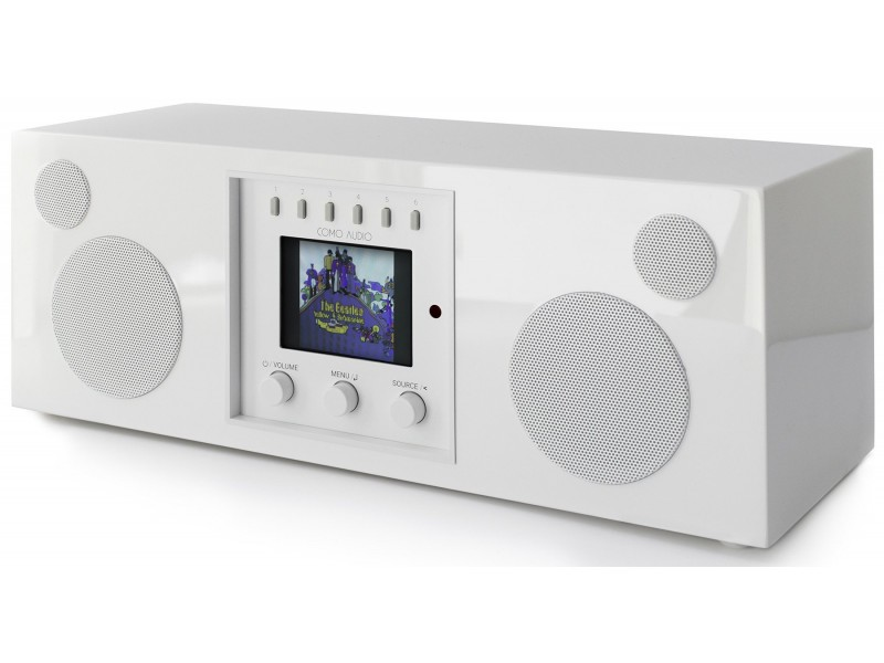 Como Audio Duetto white gloss