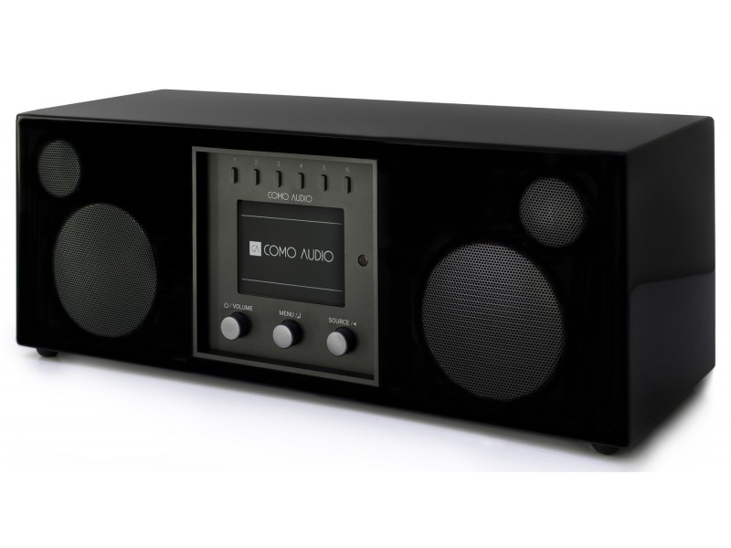 Como Audio Duetto black gloss