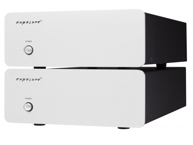 Exposure XM9 Mono Power Amplifier pair - silver