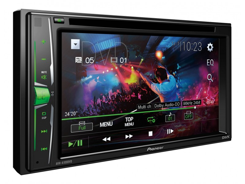 Pioneer AVH-A100DVD - cd dvd radio usb