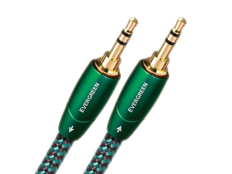 AudioQuest Evergreen - mini jack 3.5mm σε mini jack 3.5mm