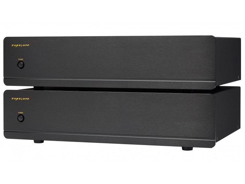 Exposure 5010 pair mono power amplifier - black