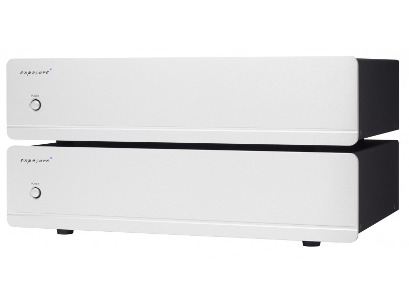 Exposure 5010 pair mono power amplifier - silver