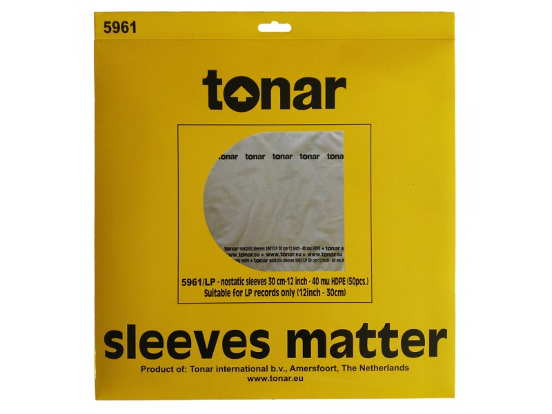 Tonar Nostatic 5961 - inner sleeves 12 inches