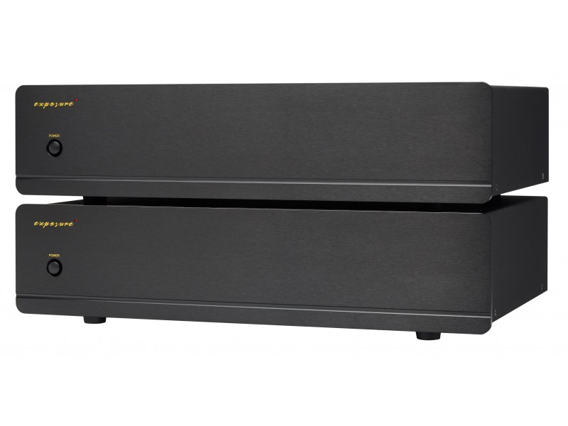 Exposure 3010 S2 pair mono power amplifier - black