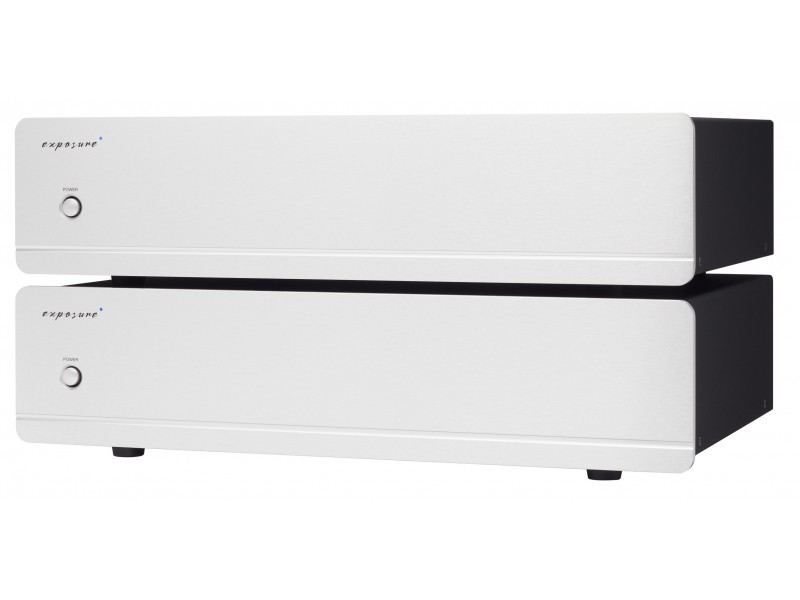 Exposure 3010 S2 pair mono power amplifier - silver